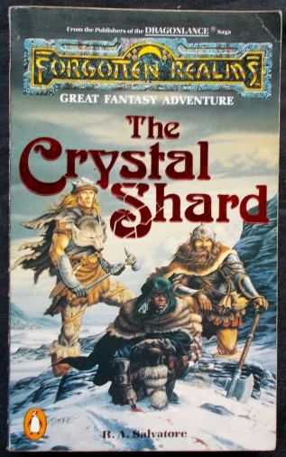 Forgotten Realms - The Crystal Shard: R A  Salvatore | Cosmic Cauldron Books