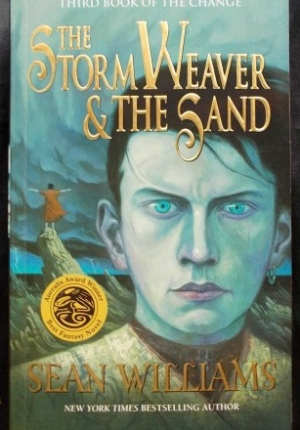 storm weaver and the sand