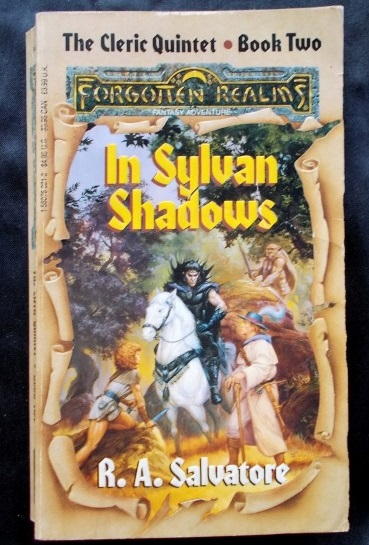Forgotten Realms - In Sylvan Shadows: R A  Salvatore   Cosmic Cauldron Books