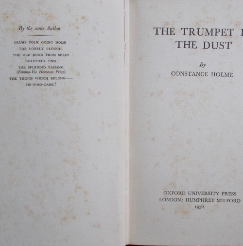 trumpet in the dust