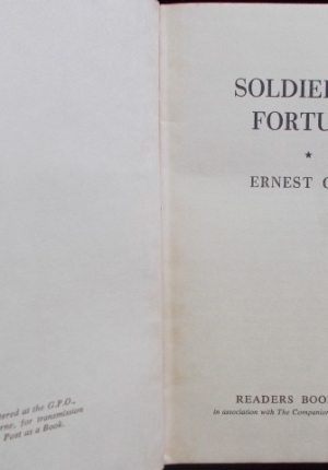 Soldier Of Fortune Fronispiece