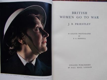 british women go to war