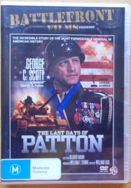 DVD Last Days Of Patton