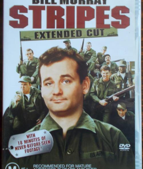 DVD Stripes