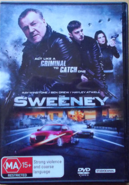 DVD The Sweeney