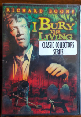 DVD I Bury The Living