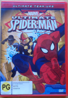 DVD Spiderman Animated